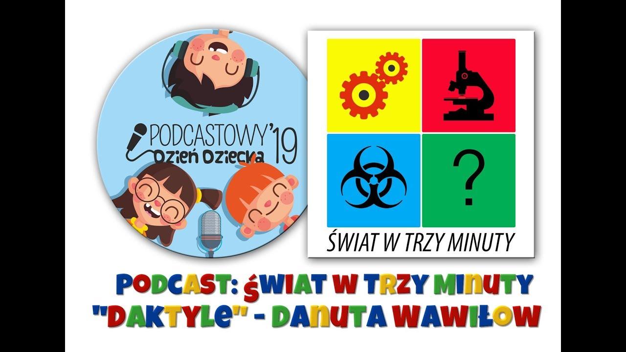 łukasz Jachowicz Z Podcastu świat W Trzy Minuty I Daktyle Danuty Wawiłow