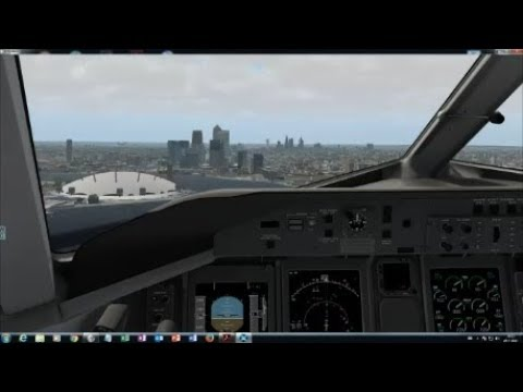 X-Plane 11: FlyJSim Dash8-Q400: London City to Southampton