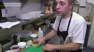 Pasquale Amico Cooks Up A Vegetarian Burger - From Coolcucumber Tv