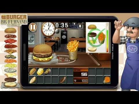Burger Big Fernand (Android - iPhone/iPad and Windows Phone Game)