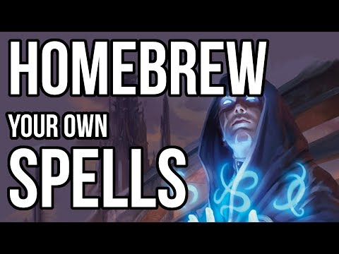 How to Create Your Own Spells (Part 1)