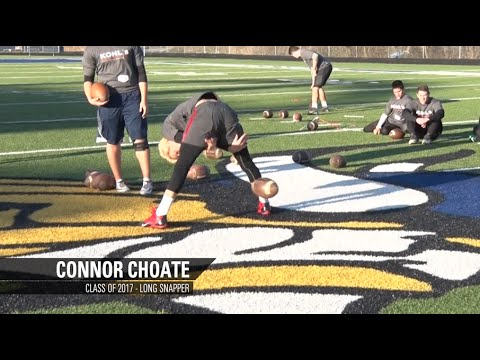 Connor Choate | No.5 Ranked Long Snapper | Class of 2017