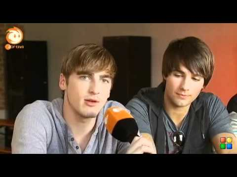 Big Time Rush - German Interview (Kika Logo)