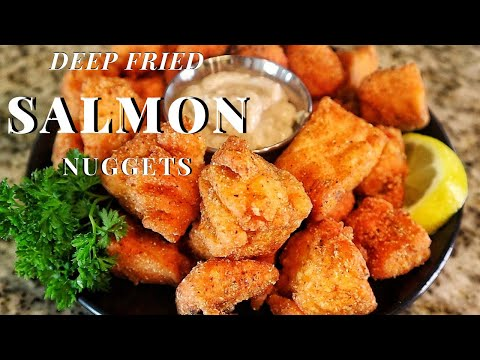 Deep Fried Salmon Nuggets Recipe | Fried Fish Recipe Tasty