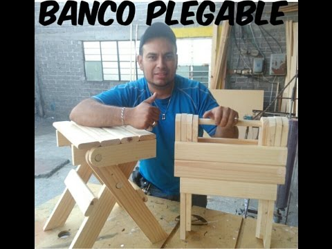BANCO PLEGABLE