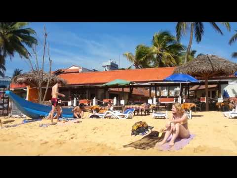 beach walk at Hikkaduwa Sri Lanka 2015 part 2
