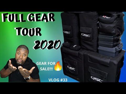 Full Gear Tour | All My Equipment | #Bringthegearoutchallenge | Mobile Dj