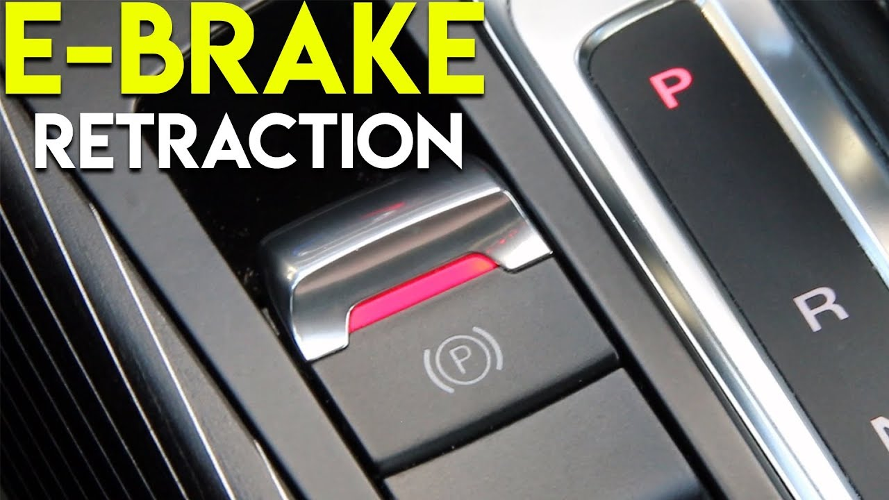 How to Retract an Electronic Parking Brake | Audi B8 5 S4