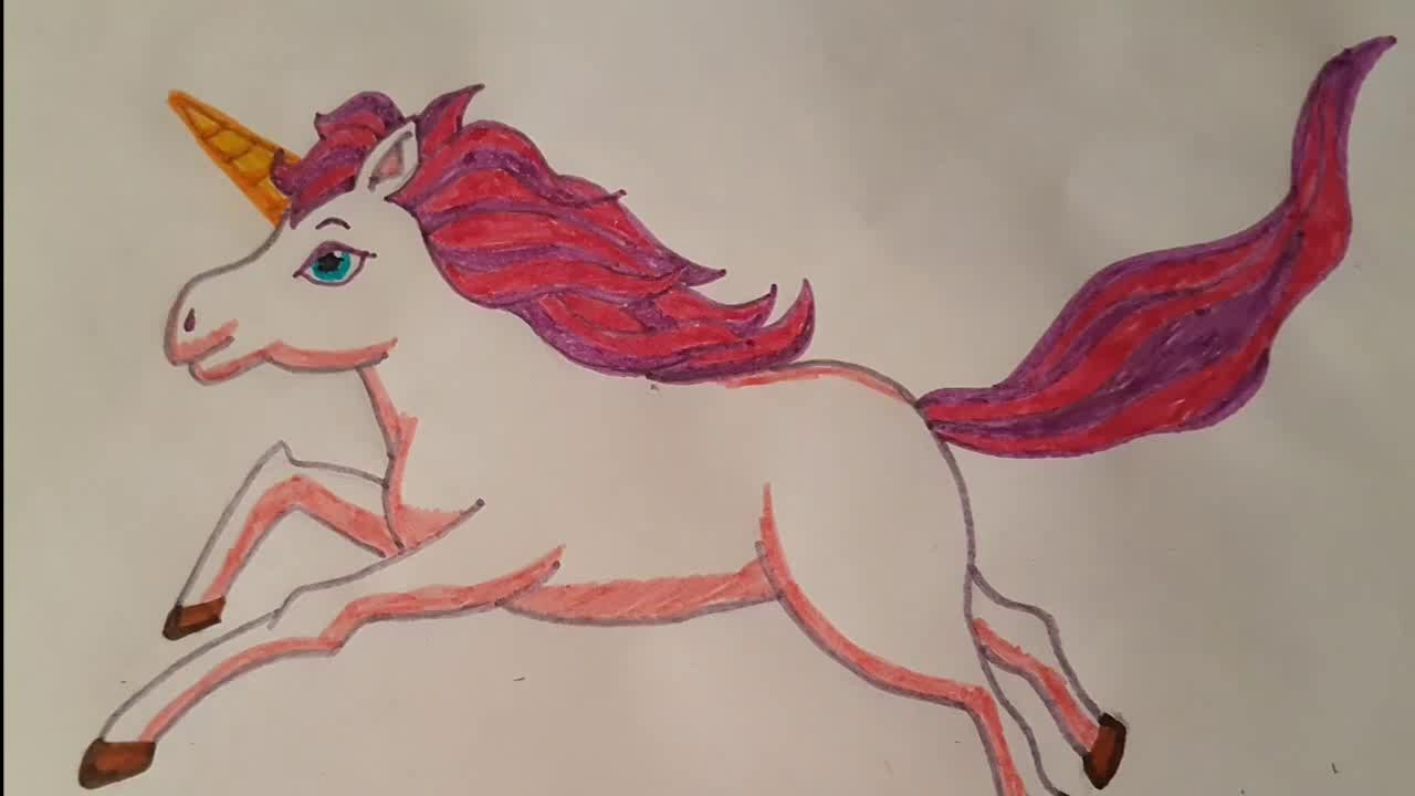 Como Dibujar Un Unicornio Facil Paso A Paso