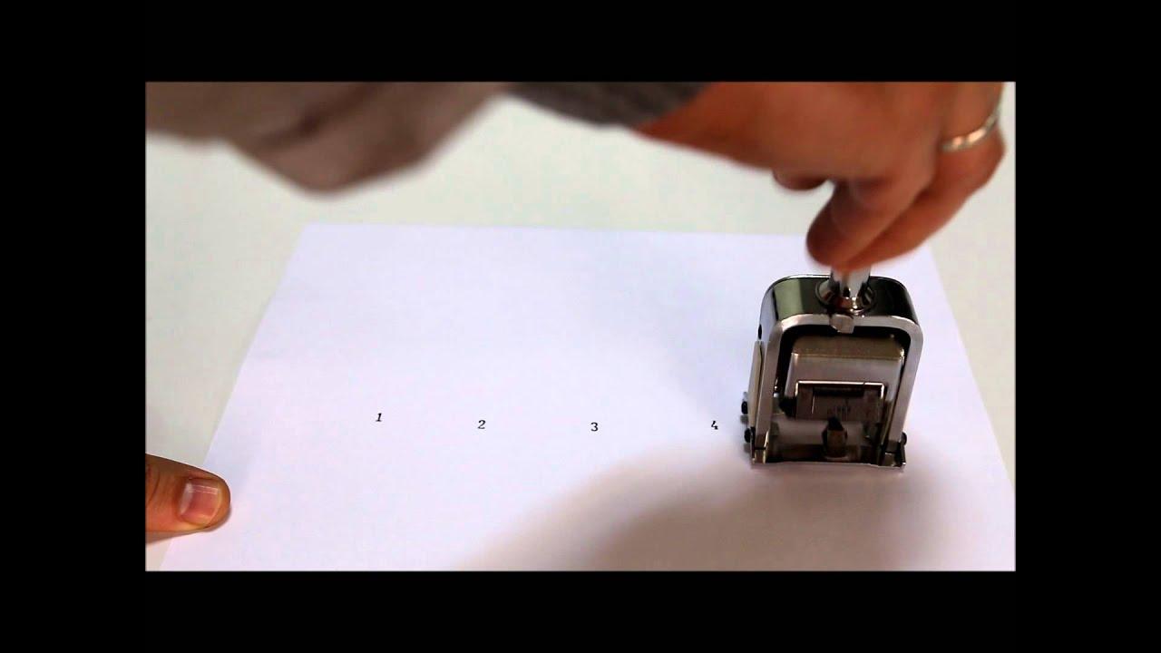 автоматический нумератор страниц 20700 инструкция