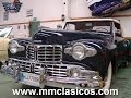 MM CLASICOS LINCOLN CONTINENTAL CABRIOLET V12 1948