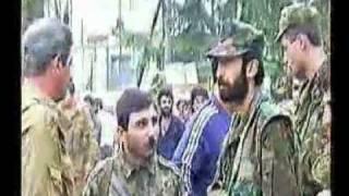 Russian-Georgian War in Georgia (Samachablo-Abkhazia) 1991-1993