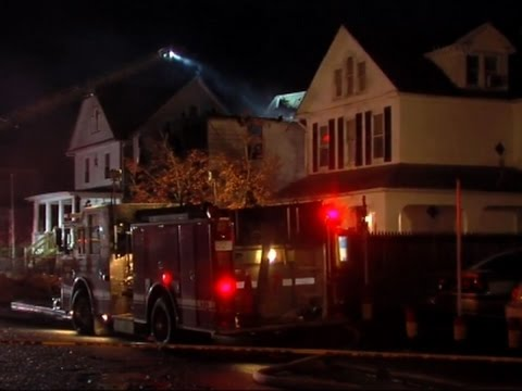 Raw: 6 Children Missing After Baltimore Fire