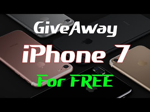 Free iPhone 7 Giveaway Live - Get your iPhone 7 Plus for free LIVE 🔥 1000 iPhones Available 🔥