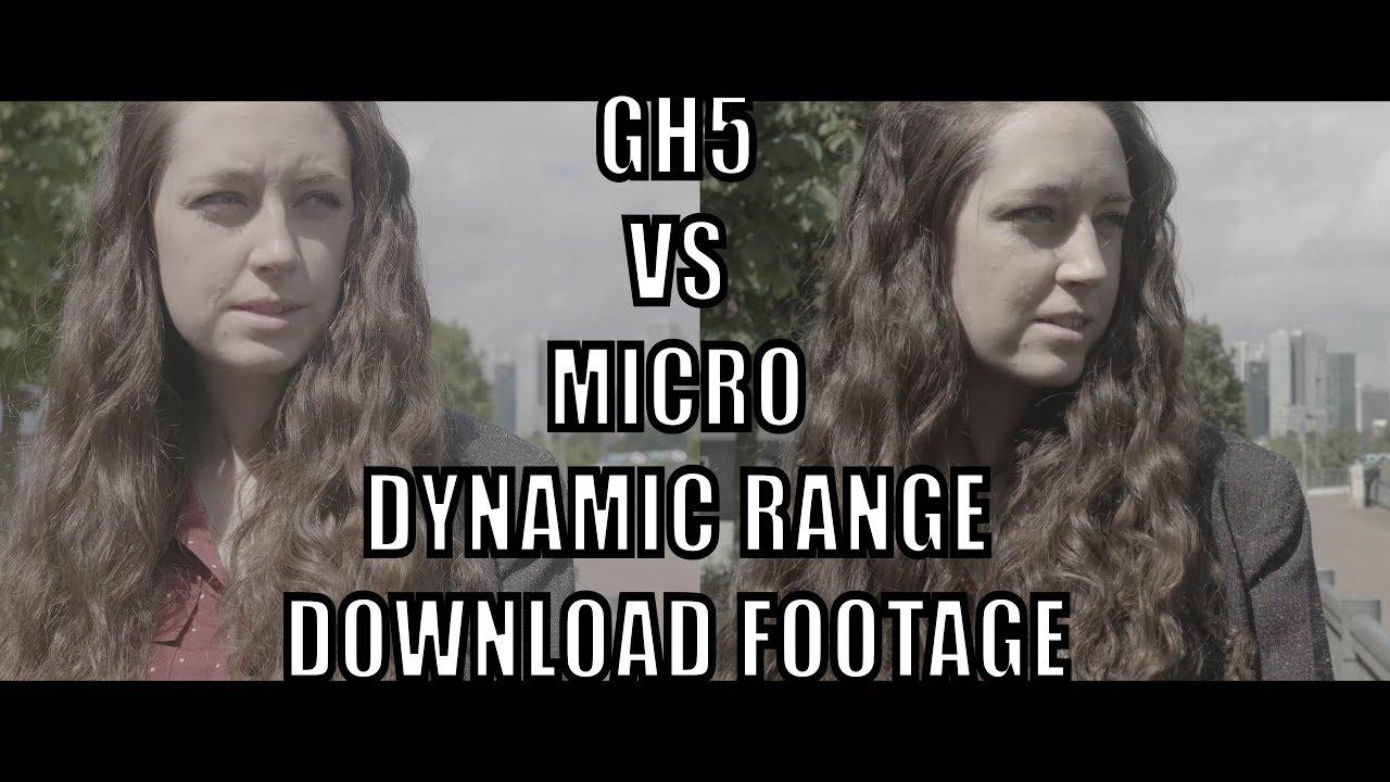 Panasonic GH5 Dynamic Range