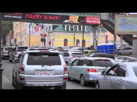 Таксомоторные компании Владивостока борются с нелегалами