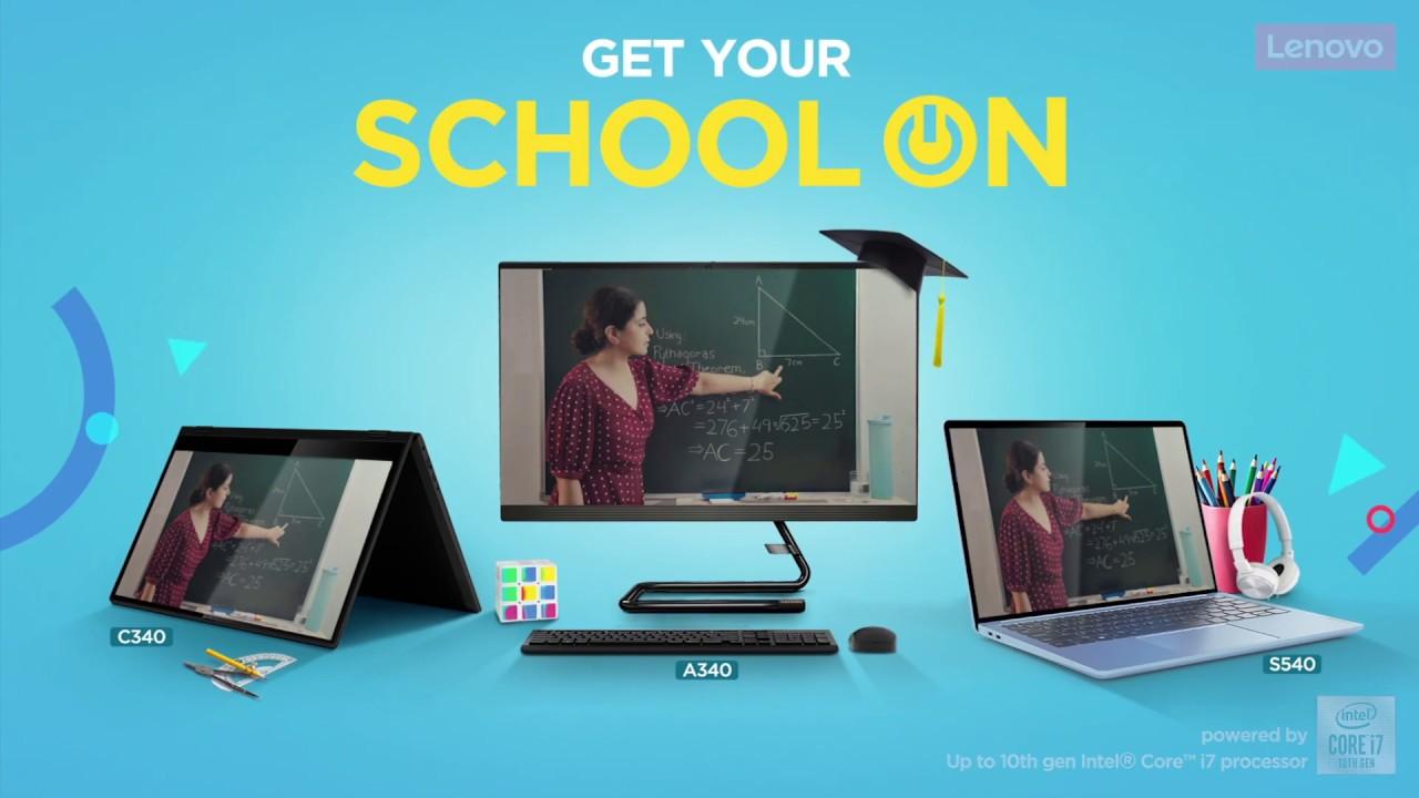 #SchoolOn with Lenovo