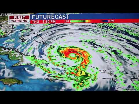 How will Hurricane Irma impact central Pennsylvania?