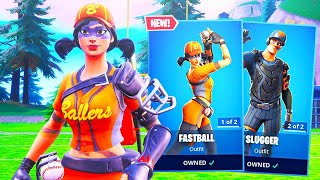 The New BASEBALL SKINS in Fortnite..