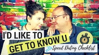 Top 5 Questions on the Speed Dating Checklist by Twin Flames