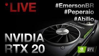 LIVE: NVIDIA RTX 2080 Ti com #Peperaio #EmersonBR e #LockGamer