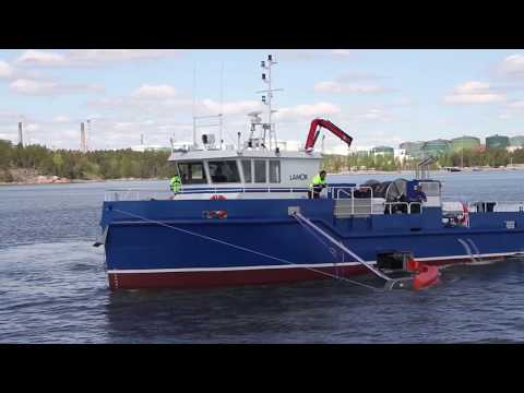 Lamor Oil Recovery Work Boat 19000