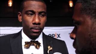 Amar'e Stoudemire Interview @ EPIX 'In the Moment' screening