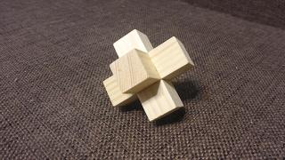 Самая простая японская головоломка своими руками.