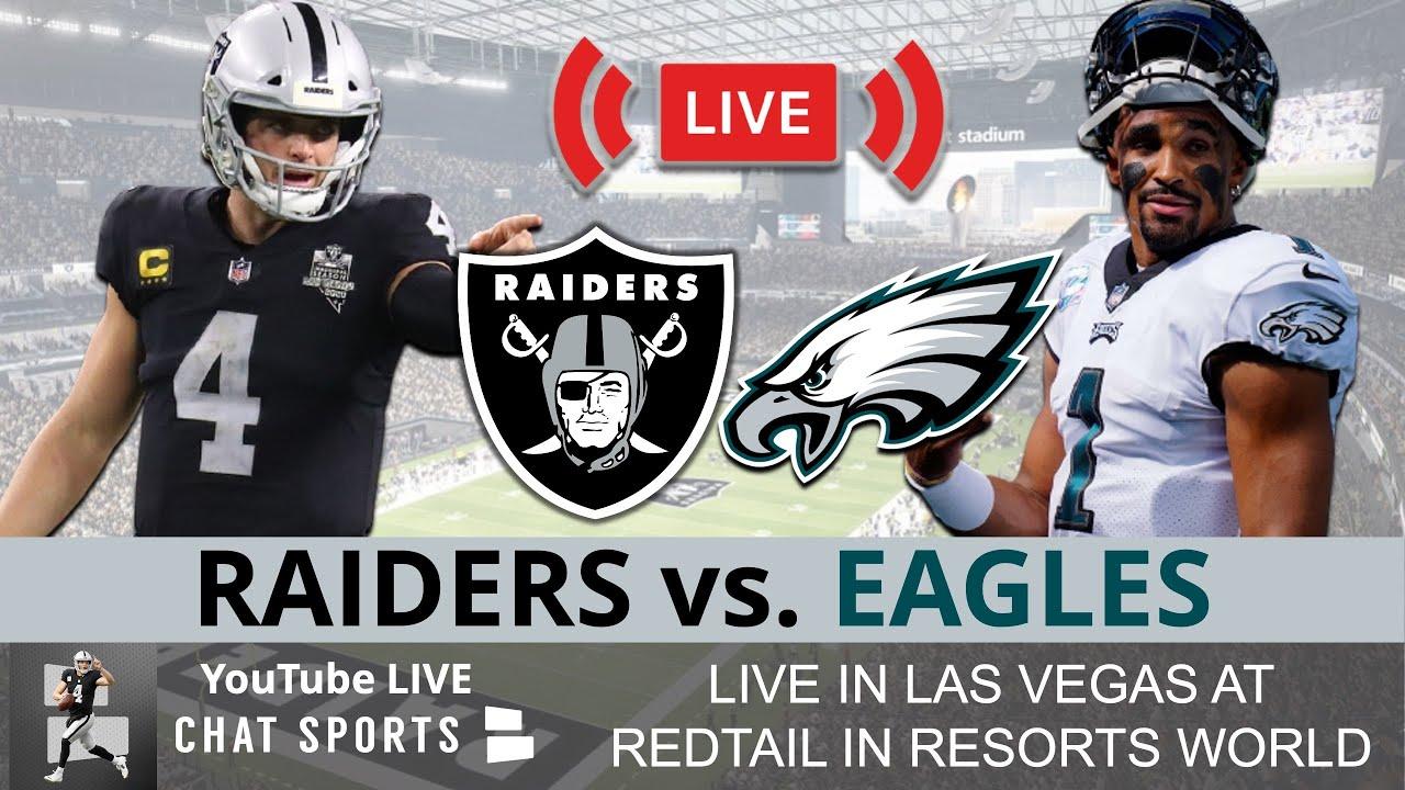 Raiders vs. Eagles score: Live updates, game stats, highlights, TV ...