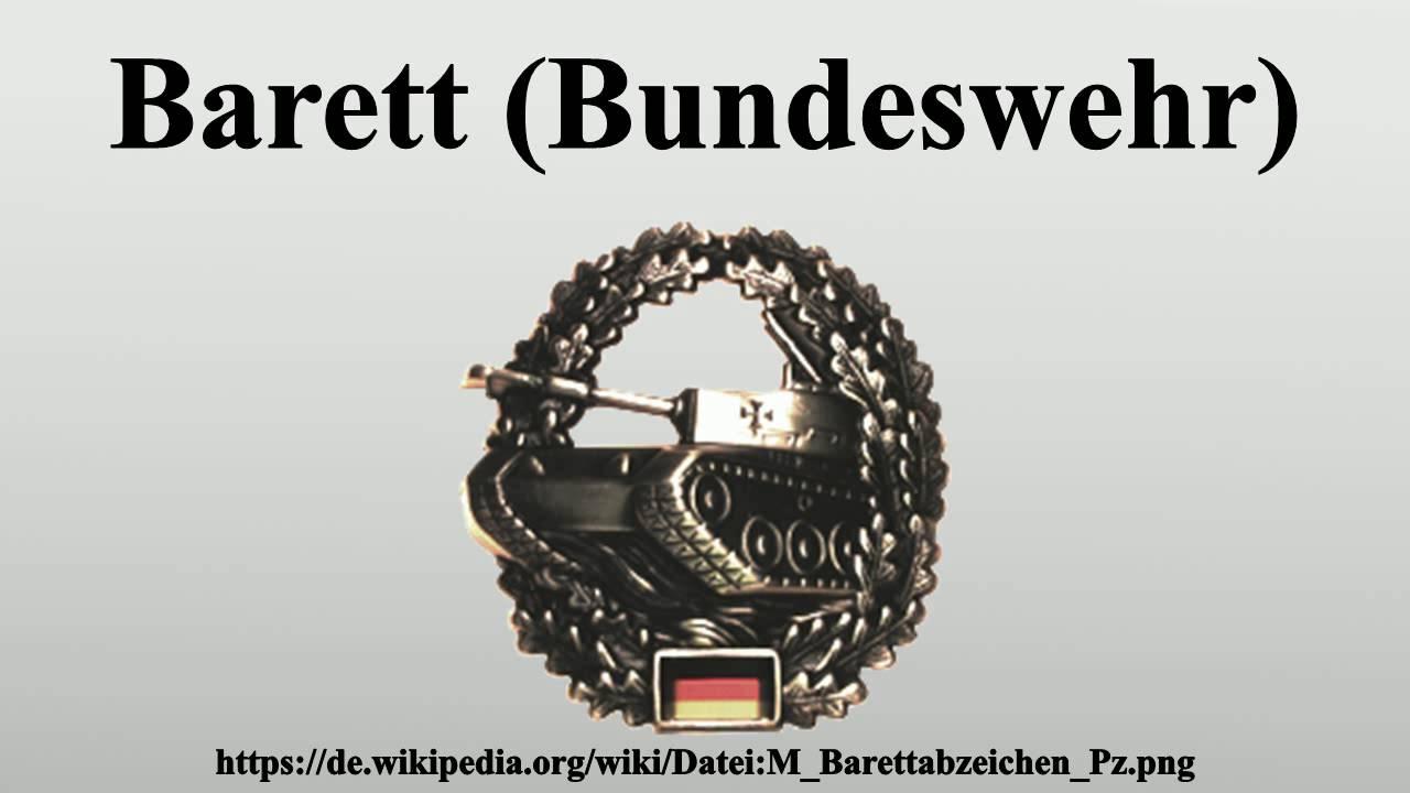 Barett (Bundeswehr) - YouTube