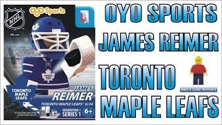 OYO SPORTS James Reimer Minifigure Toronto Maple Leafs Review  EP#5