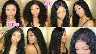 How to Make Lace Wig Look Natural Without Glue ft. RPGhair