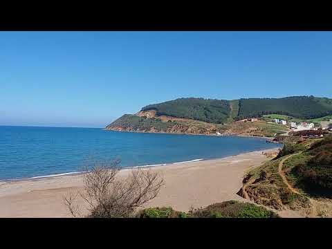 Beautiful Calm view on Sea, Forest and mountain at Azla-Tétouan North of Morocco