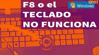 Solución si F8 no funciona en cualquier Windows