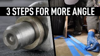 3 Easy Steps for More 240sx Steering Angle - Street Project s14