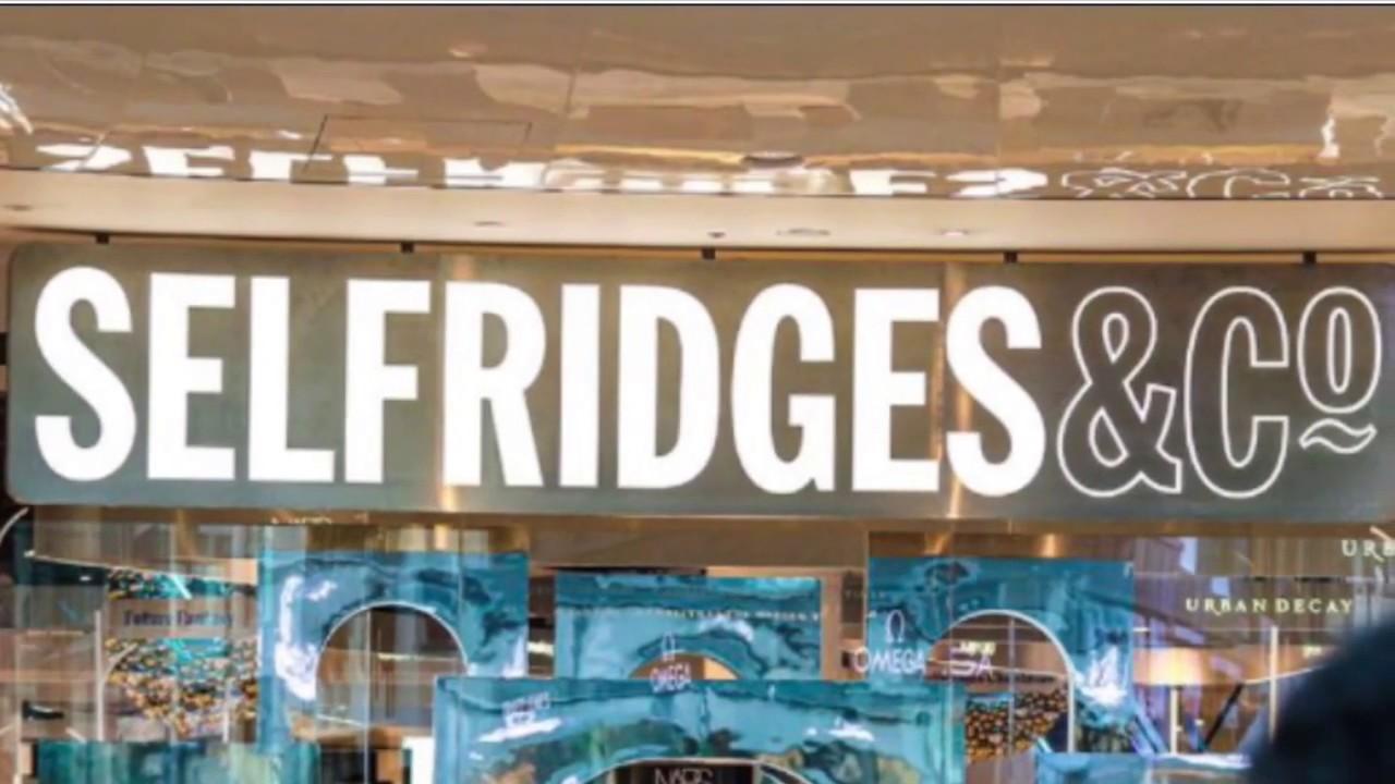 Designer's Snickers Shoes in Selfridges UK