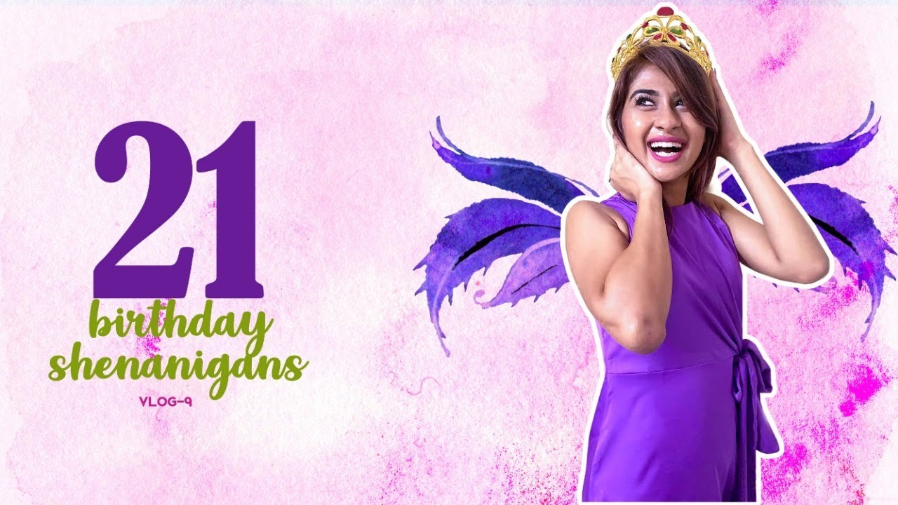 Vlog - 9 | 21st Birthday Shenanigans | Lockdown Celebrations | Nithyashree | Caveman's Studio