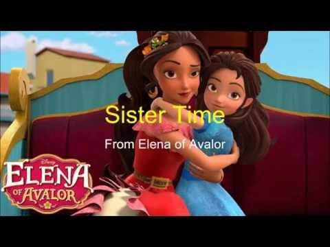 Elena of Avalor - Sister Time lyrics