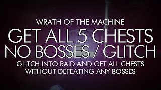 Destiny - How To Get All 5 WOTM Chests Without Defeating Bosses - WOTM Glitch!