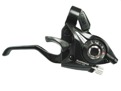 Как заменить трос на моноблоках Shimano ST-EF51