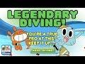 Gumball: Splash Master - Gumball & Darwin reach Legendary Diving Status (Cartoon Network Games)