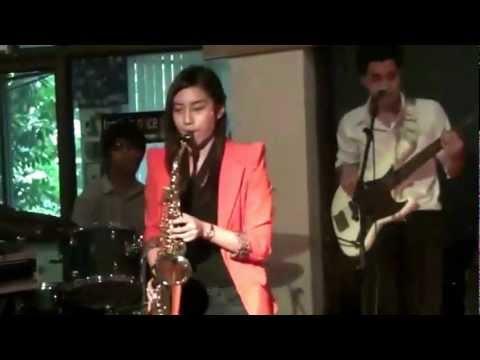 สอบ Saxophone 3 ฝน Sax CRU ดนตรีสากลจันทรเกษม