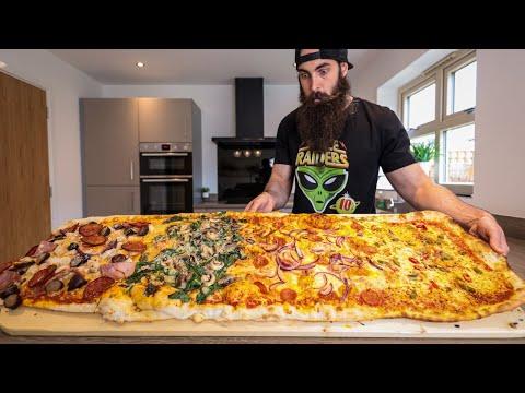 THE METRE PIZZA CHALLENGE | BeardMeatsFood