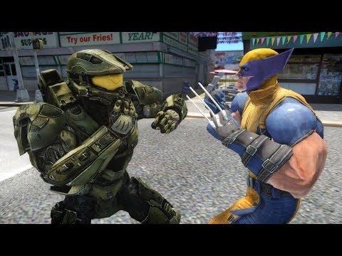 Halo Master Chief vs HULK - EPIC BATTLE | Doovi  Halo Master Chi...