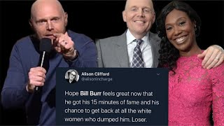 What Happens When White Women get a FRACTION of the Criticism Black Women Get - Bill Burr on SNL