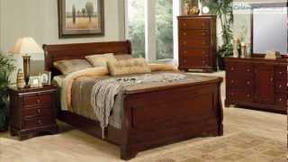 Versailles Sleigh Bedroom Collection From Coaster Furniture