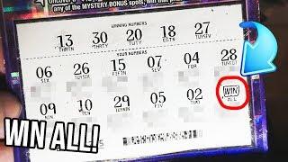 BIG WIN ALL! $5 Tax Free Ticket! $500,000 Top Prize Michigan Lottery!