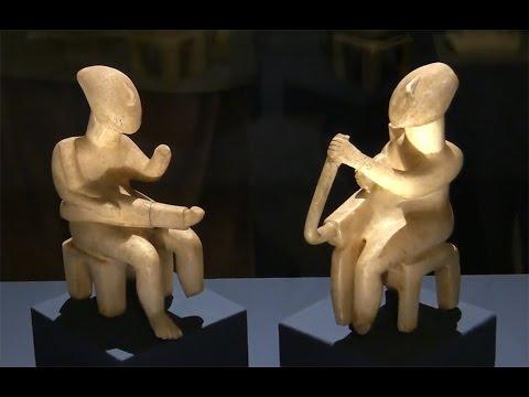 Kykladen - Lebenswelten einer frühgriechischen Kultur (ancient greek art exhibition)