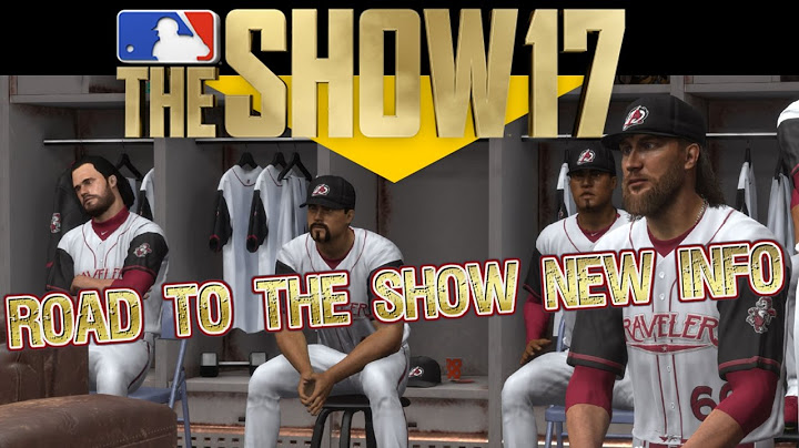 MLB The Show 17 Road To The Show Blog Info New RPG Style Career Story MLB 17