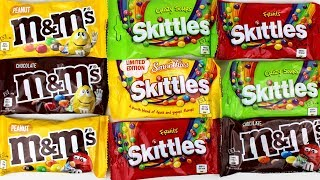 M&M's , m&m's vs Skittles , Open Candy for Kids #mm's #MM's
